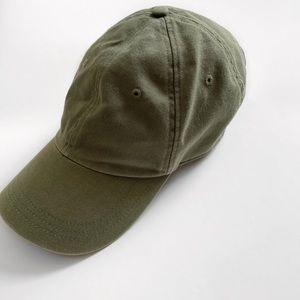 j by j.crew • olive green baseball hat
